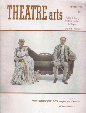 Theatre Arts Magazine October 1948