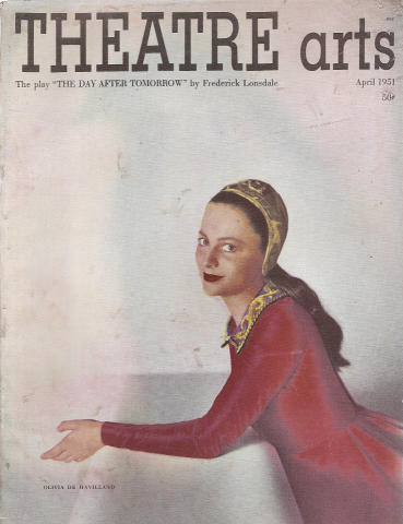 Theatre Arts Magazine April 1951