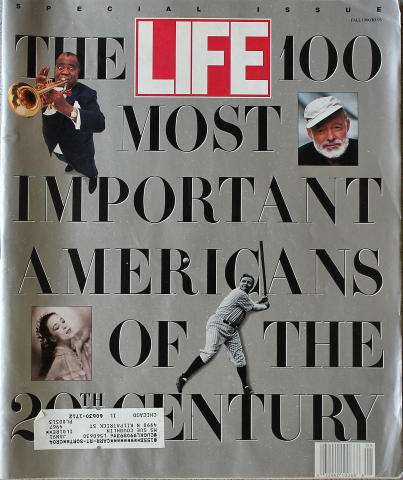 LIFE Magazine Fall 1990 - 100 Most Important Americans
