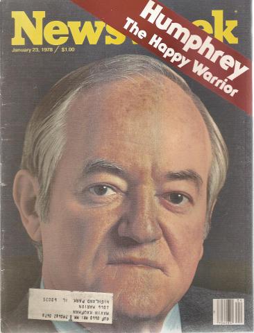 Newsweek Magazine January 23, 1978