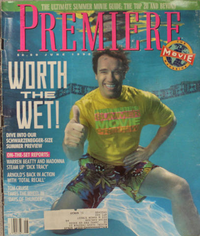 Premiere Magazine June 1, 1990 at Wolfgang's