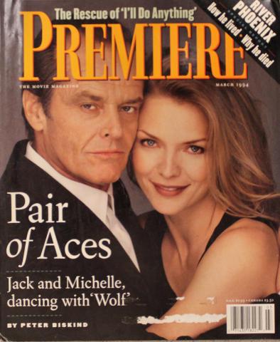 Premiere Magazine March 1, 1994
