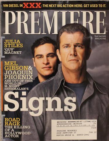 Premiere Magazine August 1, 2002