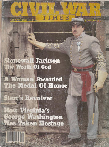 Civil War Times Illustrated Magazine March 1984