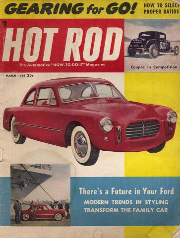 Hot Rod Magazine March 1954