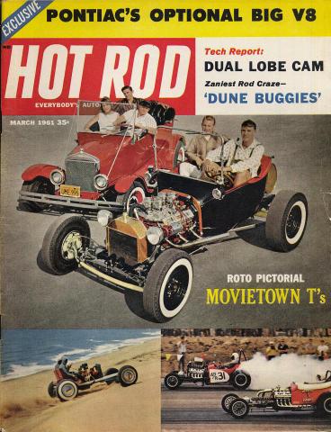 Hot Rod Magazine March 1961