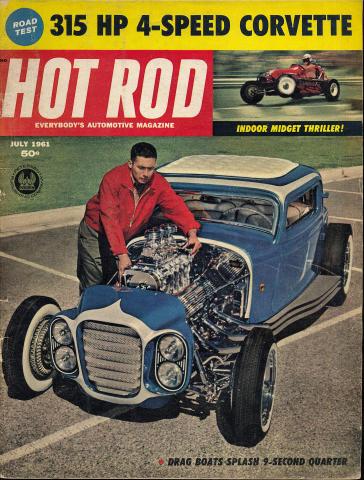Hot Rod Magazine July 1961