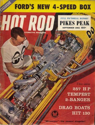 Hot Rod Magazine September 1961