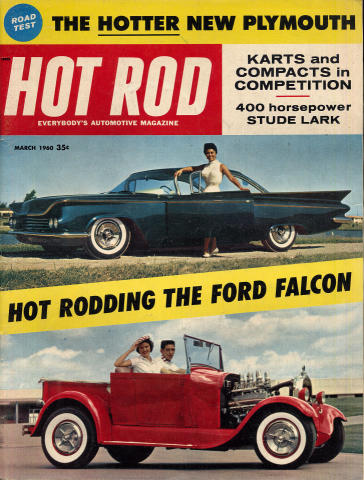 Hot Rod Magazine March 1960