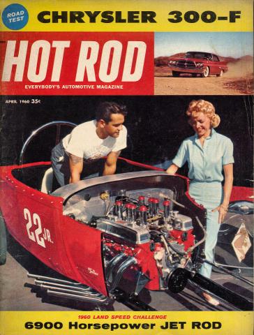 Hot Rod Magazine April 1960