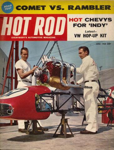 Hot Rod Magazine June 1960