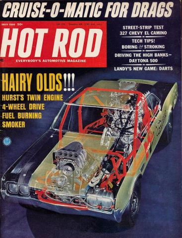 Hot Rod Magazine May 1966
