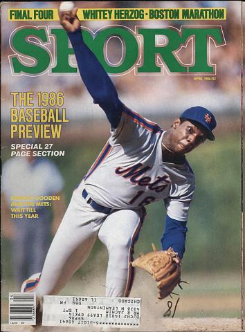 Sport Magazine April 1986