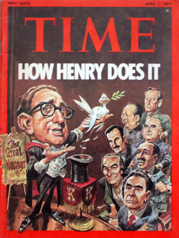 Time Magazine April 1, 1974