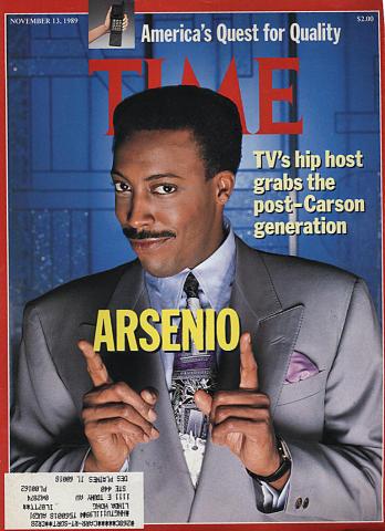 Time Magazine November 13, 1989