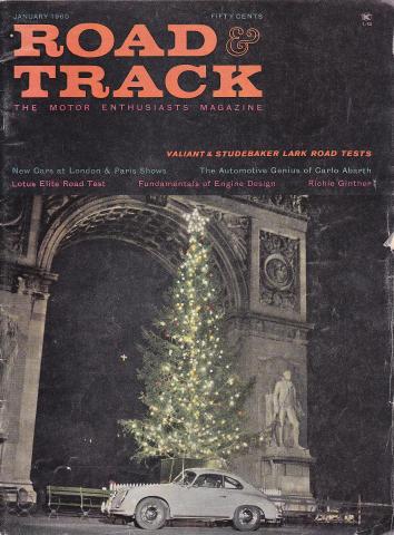 Road & Track Magazine January 1960