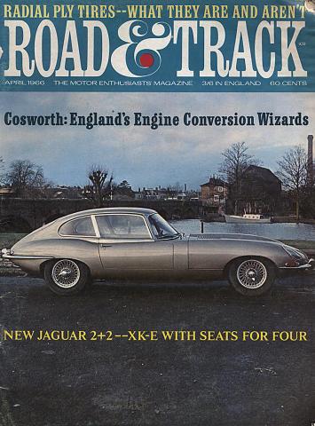 Road & Track Magazine April 1966