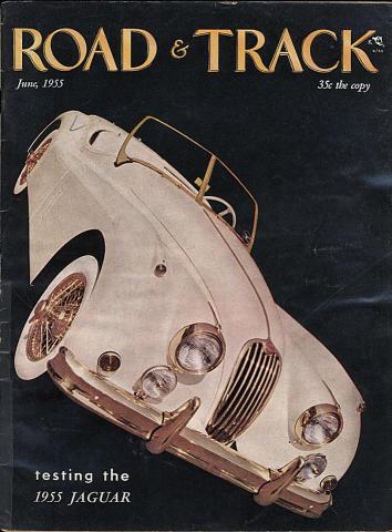 Road & Track Magazine June 1955