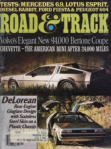 Road & Track Magazine July 1977