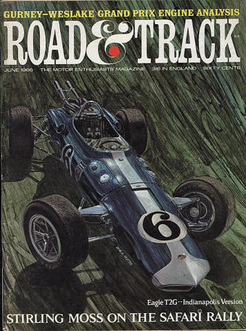 Road & Track Magazine June 1966