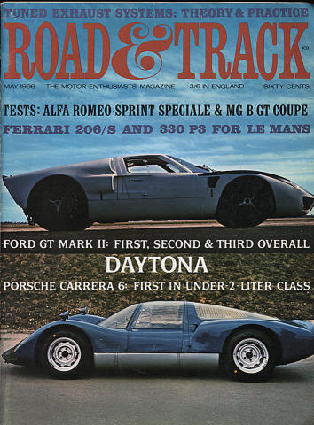 Road & Track Magazine May 1966