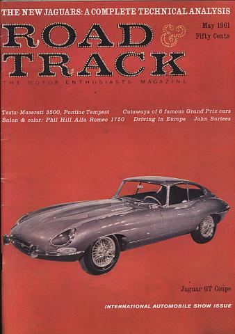 Road & Track Magazine May 1961