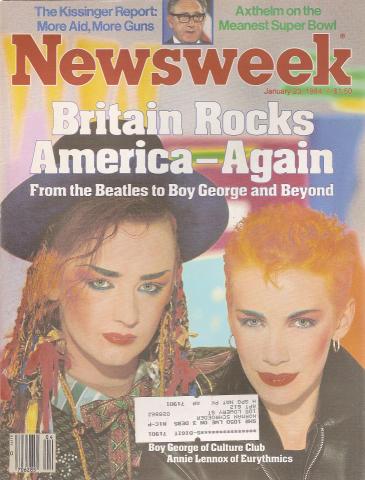 Newsweek Magazine January 23, 1984