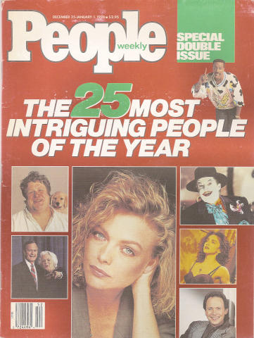 People Magazine December 25, 1989