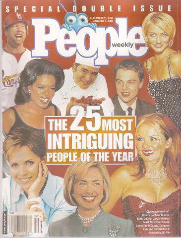 People Magazine December 28, 1998