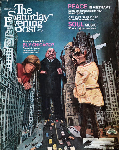 The Saturday Evening Post February 8, 1969