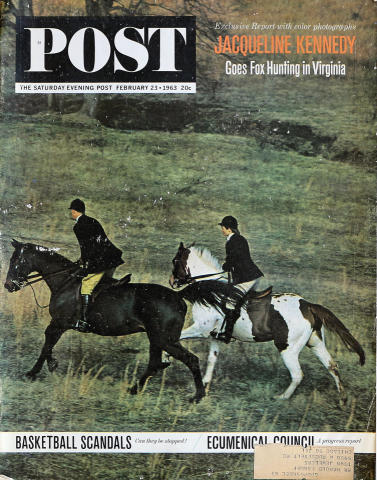 The Saturday Evening Post February 23, 1963