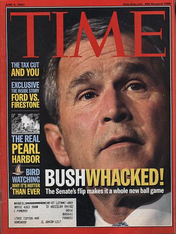 Time Magazine June 4, 2001