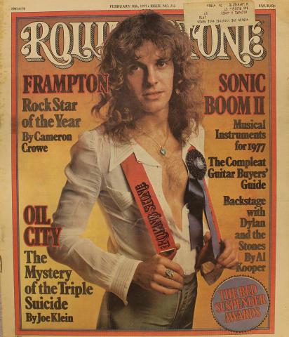 Rolling Stone Magazine February 10, 1977