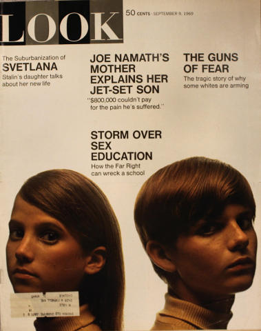 LOOK Magazine September 9, 1969