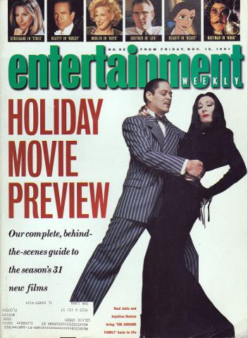 Entertainment Weekly November 15, 1991