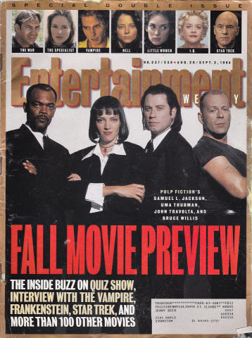 Entertainment Weekly August 26, 1994