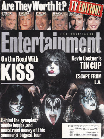 Entertainment Weekly August 16, 1996