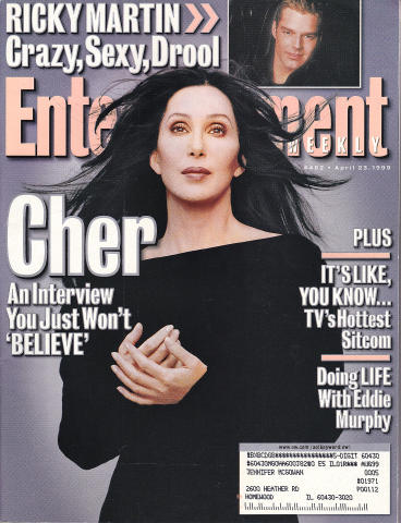 Entertainment Weekly April 23, 1999