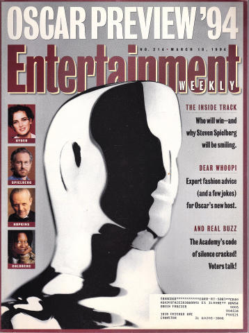 Entertainment Weekly March 18, 1994