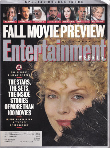 Entertainment Weekly August 27, 1993