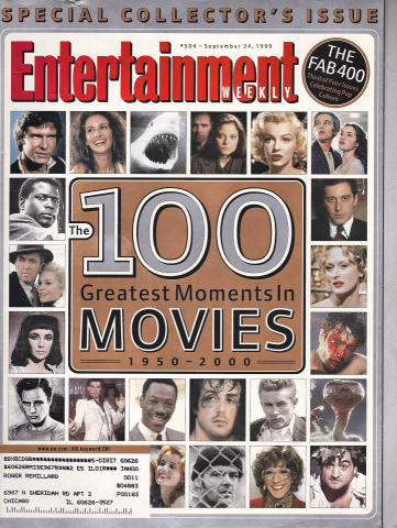 Entertainment Weekly September 24, 1999
