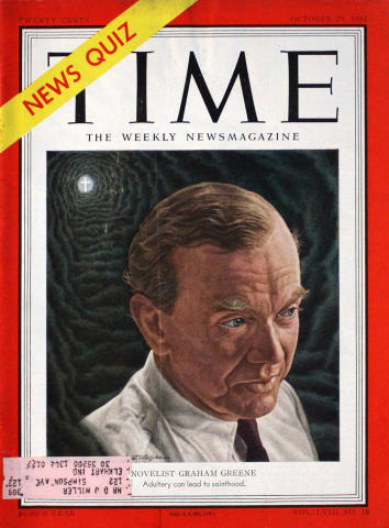 Time Magazine October 29, 1951