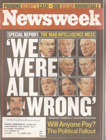 Newsweek Magazine February 9, 2004