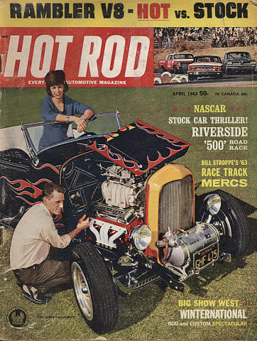 Hot Rod Magazine April 1963