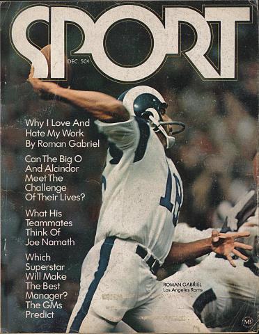 Sport Magazine December 1970