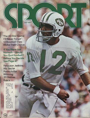 Sport Magazine July 1972