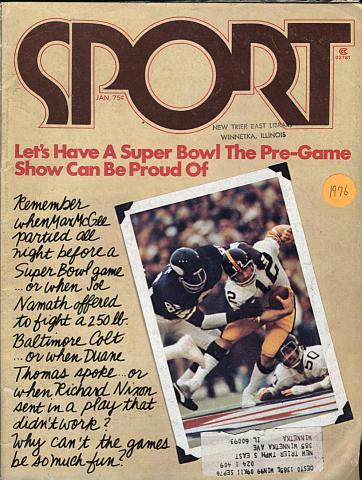 Sport Magazine January 1976