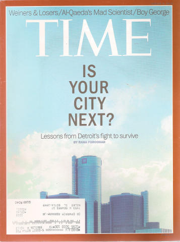 Time Magazine August 5, 2013