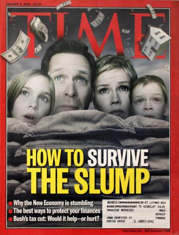 Time Magazine January 8, 2001