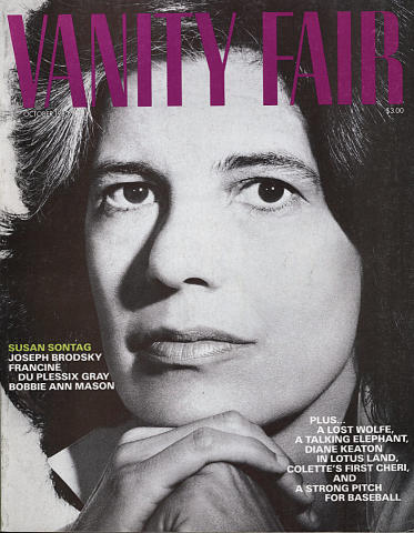 Vanity Fair Magazine October 1983